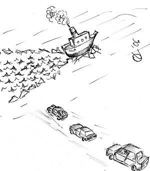 jäätee ületamine