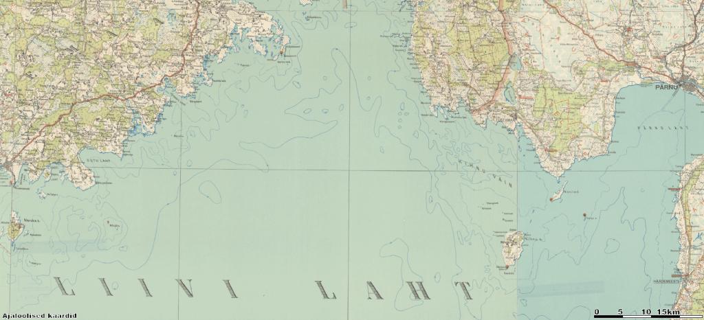 Eesti topokaart 1:200 000 (1935-1938) Allikas: maa-ameti geoportaal