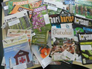 Kohila_reisiraamatukogu_loodusajakirjad